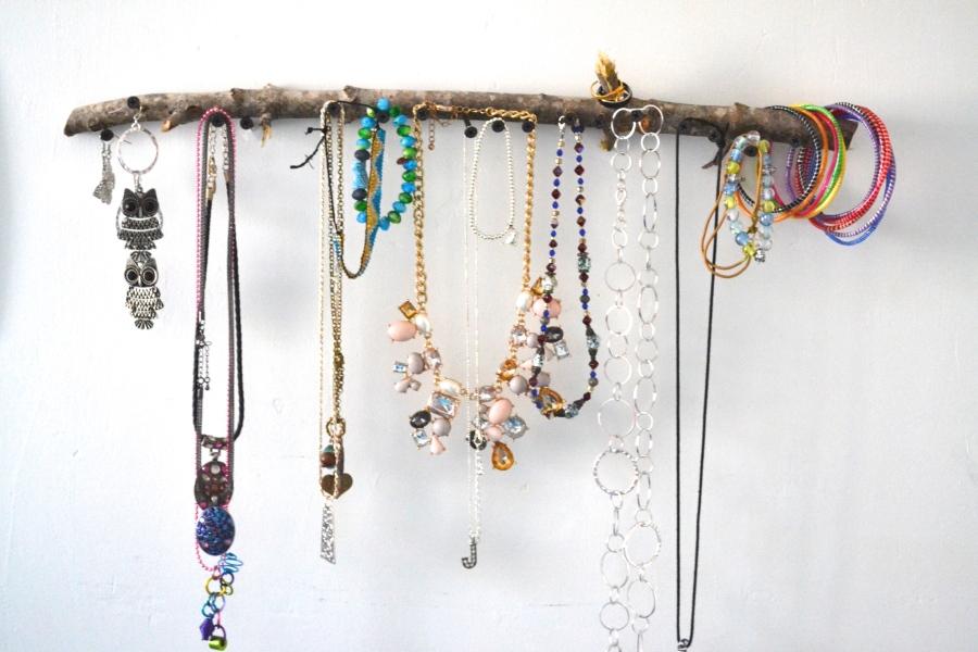 DIY Branch JewelryHolder